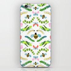 Caterpillars iPhone & iPod Skin