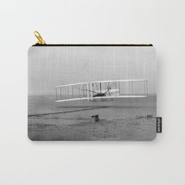 Wright Brothers First flight Kitty Hawk North Carolina December 17 1903 Carry-All Pouch