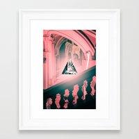 logo Framed Art Prints featuring logo by Adrianna Bykowska