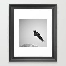 Libre comme l'air Framed Art Print