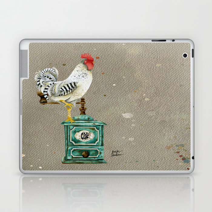 Rooster Wallace 2 Laptop & iPad Skin