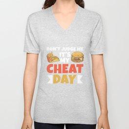 It's My Cheat Day Unisex V-Neck