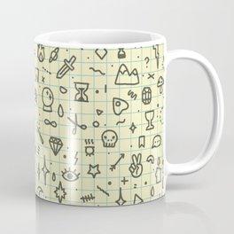 Doodles Pattern Coffee Mug