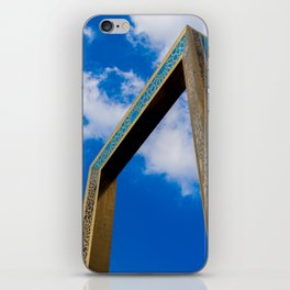 The Dubai Frame iPhone Skin