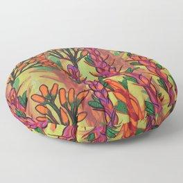 Sunrise Ocotillo Floor Pillow
