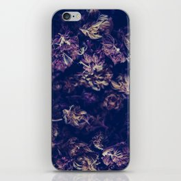 A macro photo of a bunch of cannabis kush iPhone Skin