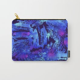 Blue violet cool brush Carry-All Pouch