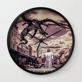 Jesus Skywalker Wall Clock