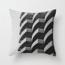 Fascinating Facade Throw Pillow