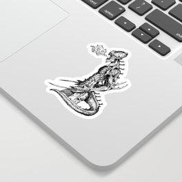 Fierce (Inktober 2017) Sticker