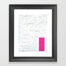 Melt Framed Art Print