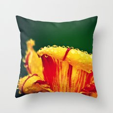 Tulip in Spring Throw Pillow