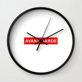 avant garde Wall Clock