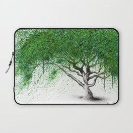 Green Breeze Tree Laptop Sleeve