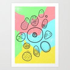 Mikrobi Art Print