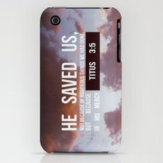 HE SAVED US Slim Case iPhone (3g, 3gs)