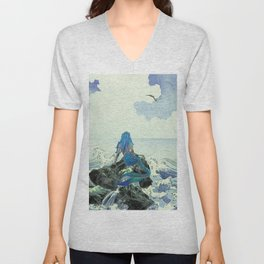 Beauty Mermaid Unisex V-Neck