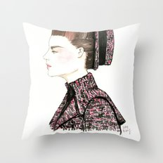 Chanel Haute Couture Fall 2013 Throw Pillow