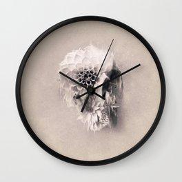 Decay Skull Light Wall Clock