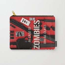 Zombie Emergency Kit Carry-All Pouch