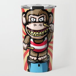 Ape Drummer Travel Mug