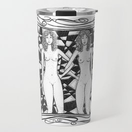 Gemini by Riendo Travel Mug