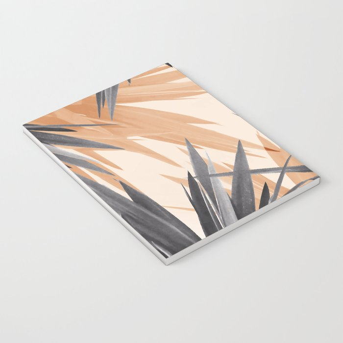 Orange Tropics Notebook