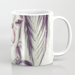 Palm Tree Llama Coffee Mug