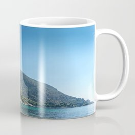 French Riviera Beach Day Coffee Mug