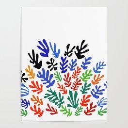 Matisse Floral Pattern #1 Poster