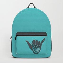 Good Vibes shaka Backpack
