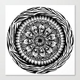 ZenTangle  Canvas Print