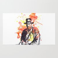 indiana Area & Throw Rugs featuring Indiana Jones by idillard