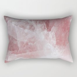 Rose Quartz Rectangular Pillow