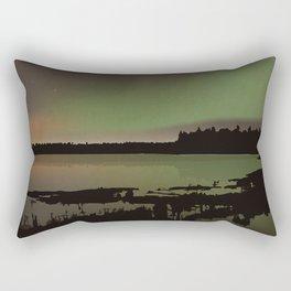 Elk Island National Park Rectangular Pillow
