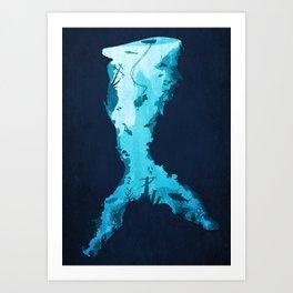 Riches Under the Sea Art Print
