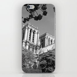 Notre Dame in Spingtime iPhone Skin