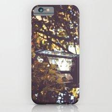autumn leaves, lamp post Slim Case iPhone 6s