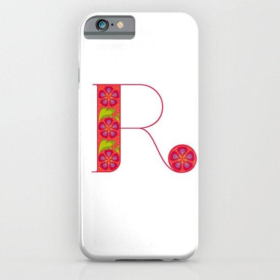 R - Amarilis iPhone & iPod Case