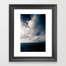 summer ver.navyblack Framed Art Print