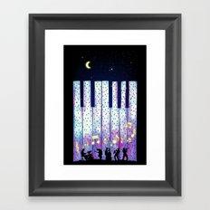 Harmony In The Night Framed Art Print