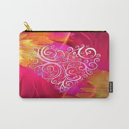 Ever More Heart Carry-All Pouch