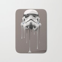 Stormtrooper Melting Bath Mat