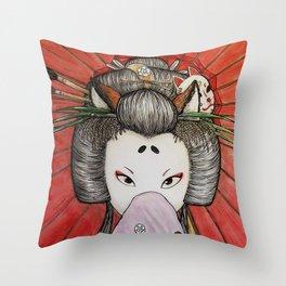 Kuzunoha Throw Pillow