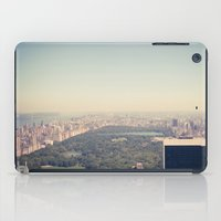 central park iPad Cases featuring Central Park by Thomas Richter