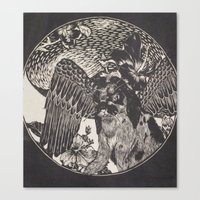 mythology Canvas Prints featuring mythology by Liss527