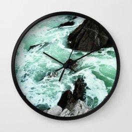 Churning Tide Wall Clock