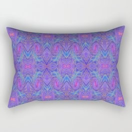Subspace Currents Pattern Rectangular Pillow