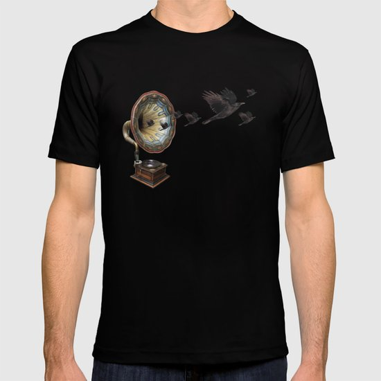 the sound of crows T-shirt