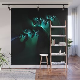 Ghostly Wall Mural
